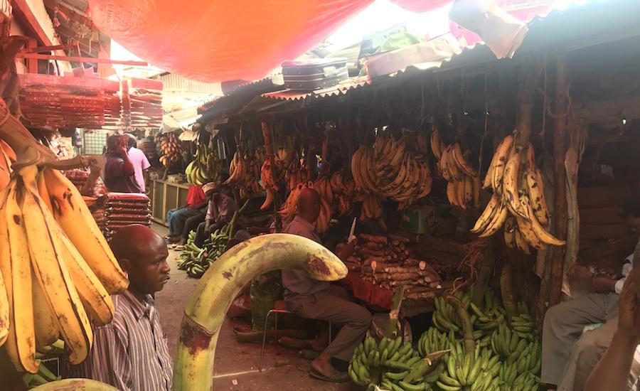 Tanzania Zanzibar rejser til zanzibar bananmarket