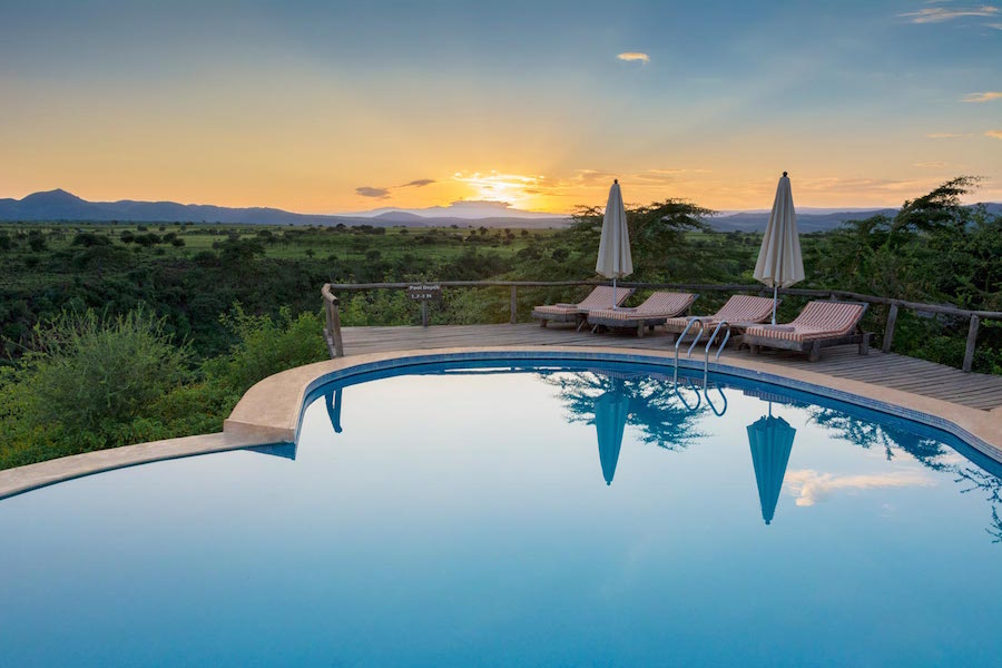 Safari - Escarpment Luxury Lodge - Lake Manyara