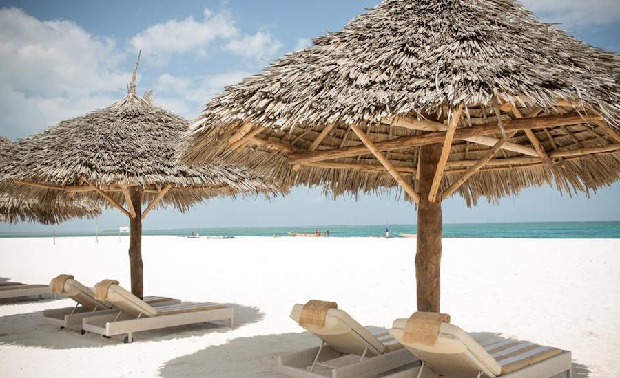Zanzibar - Gold Zanzibar Beach House and Spa - nord-vestkysten - Kendwa