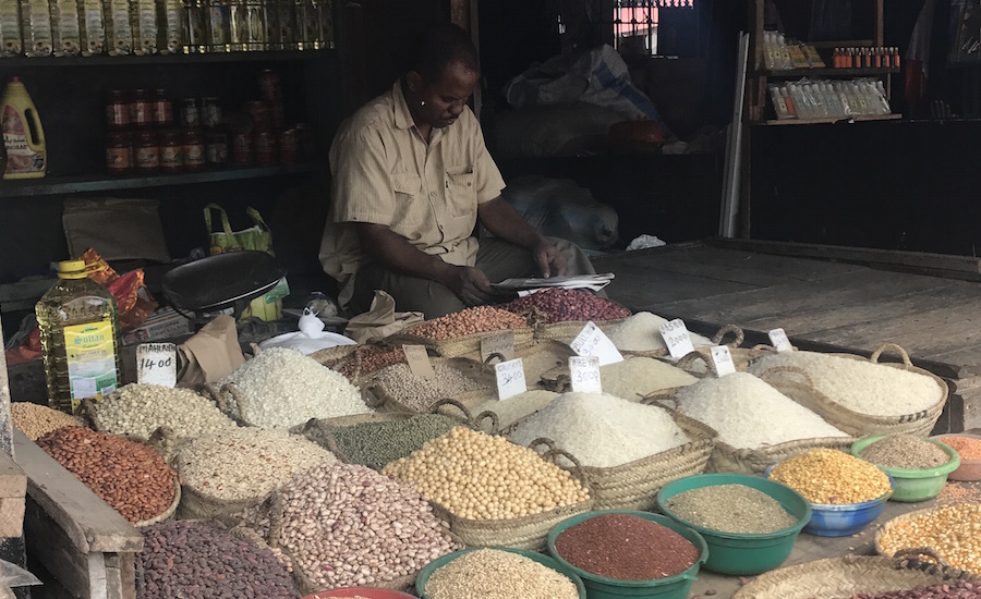 Tanzania Zanzibar udflugter på Zanzibar spice market