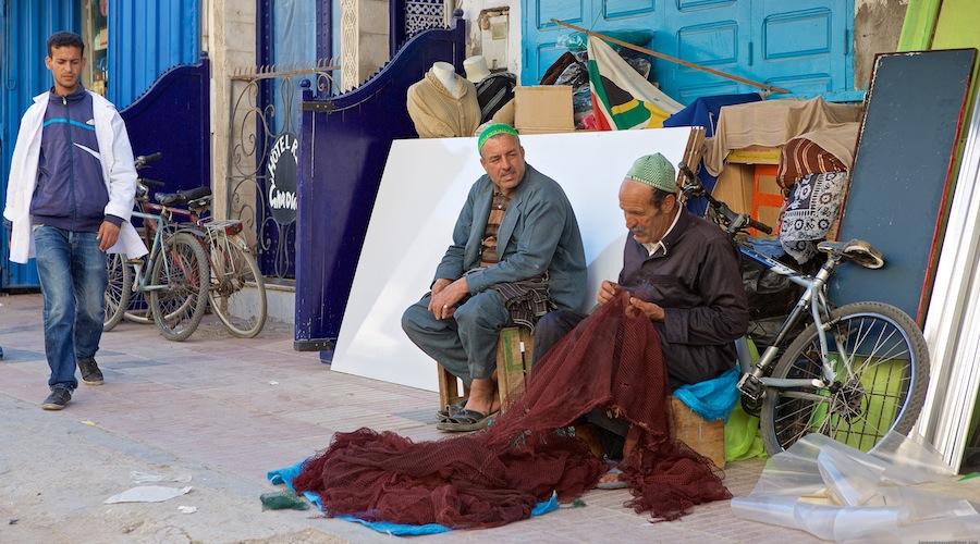 Fiskere i Essaouira