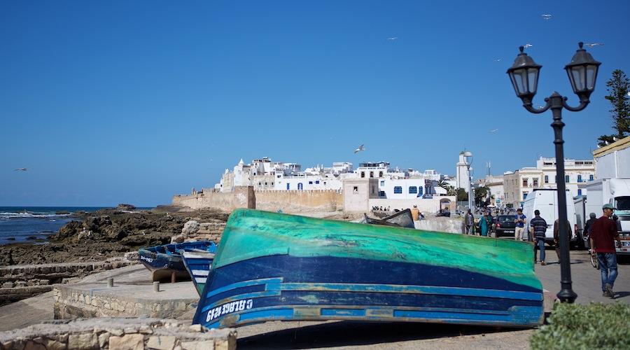 Fiskerbåd i Essaouira