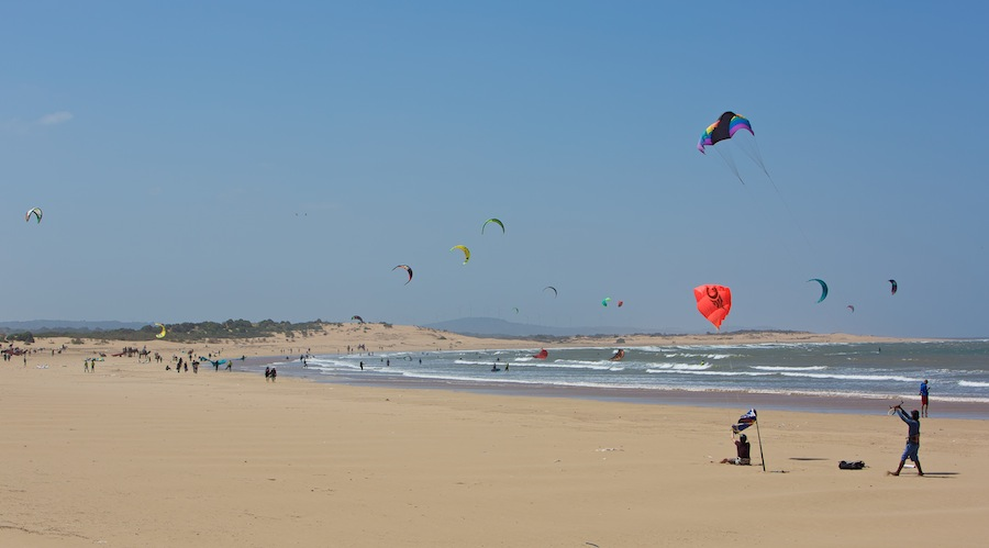 Stranden i Essaouira
