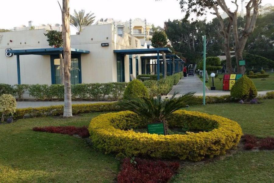 Cairo_Pyramids_Hotel_Garden view