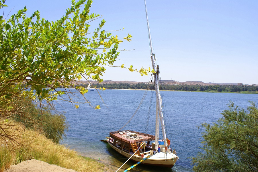 Nilkrydstogt - Oriental Dream Private Felucca Aswan