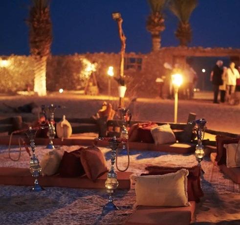 Ørkensafari med middag i beduinlejr
