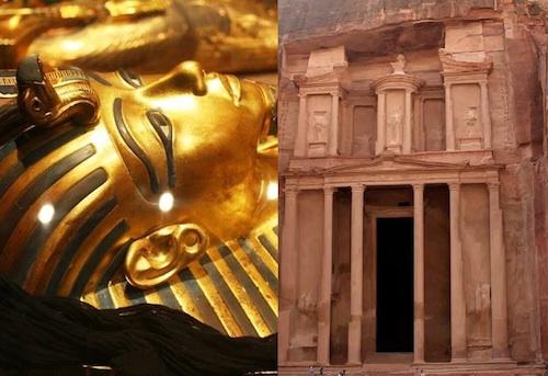 Klassisk tur til Egypten og Jordan