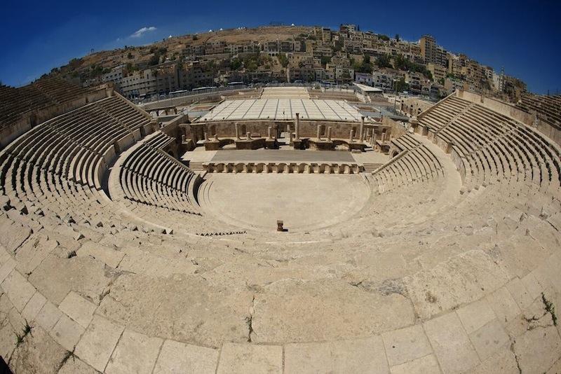 Roman amphie theatre Amman