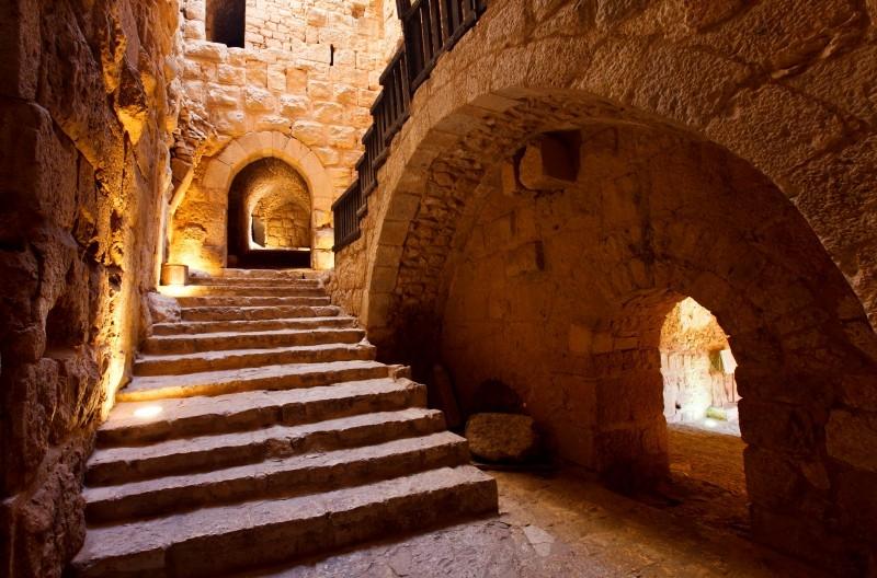 Ajloun Castle stairs