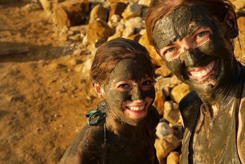 Dead Sea mudbath