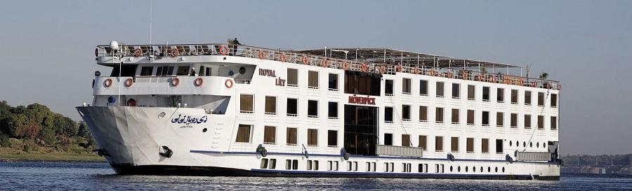 Nilkrydstogt - Mövenpick MS Royal Lily Nile Cruise Luxor
