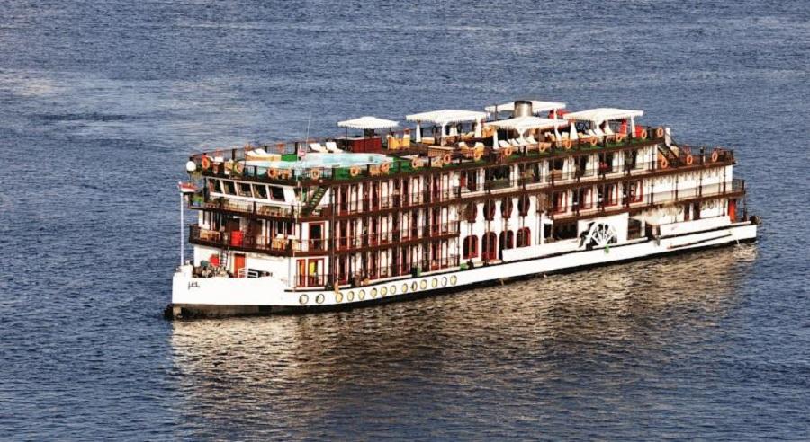 Nilkrydstogt - SS Misr Steamer Moevenpick  Nile Cruise