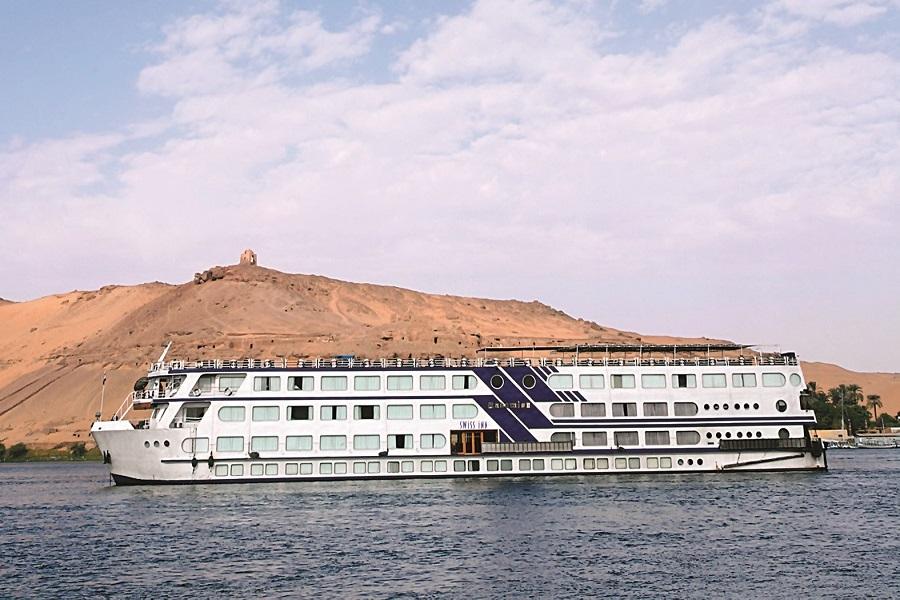 Nilkrydstogt - Ms Radamis  Nile cruise Swiss Inn