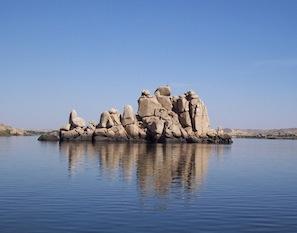 Lake Nasser og Abu Simbel