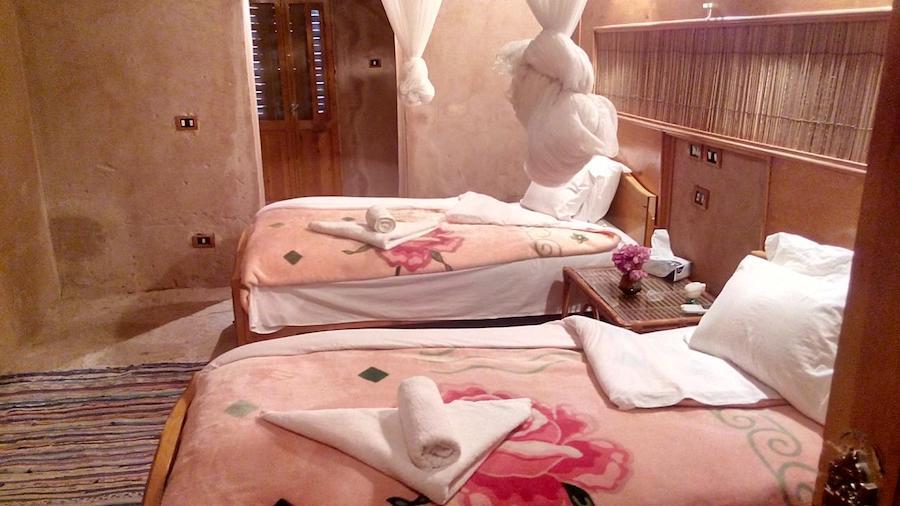 Egypten Abu Simbel Eskaleh_Nubian_Ecolodge_twinnroom
