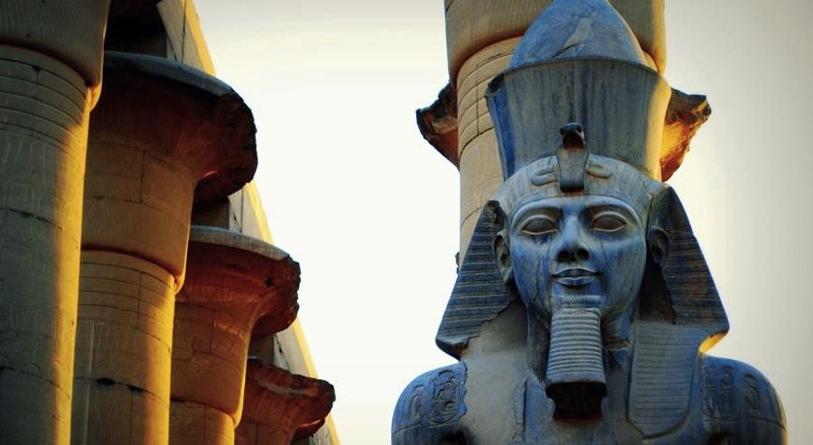 nedre til oevre Egypten