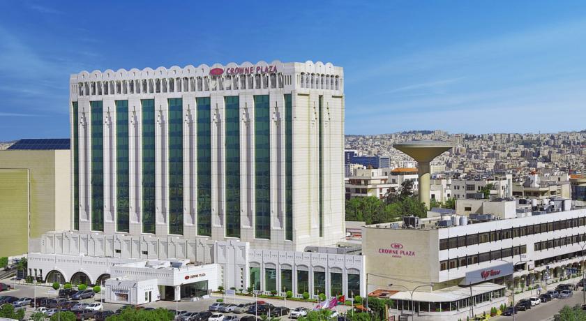 Crowne Plaza Amman facade Jordan