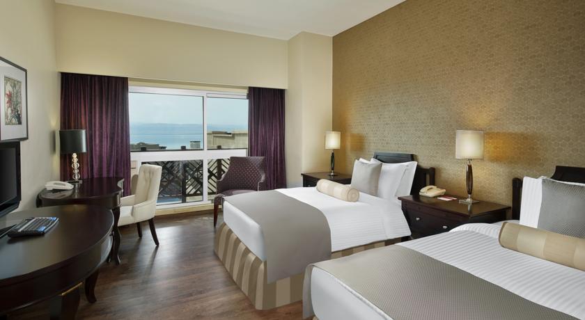 Crown Plaza Dead Sea double room Jordan rejser til jordan dead sea younes rejser