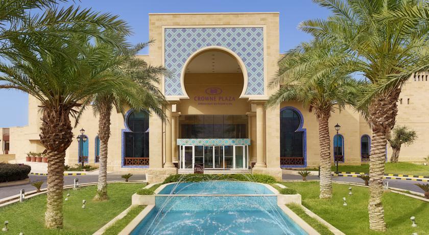 Crown Plaza Dead Sea entrance Jordan rejser til jordan dead sea book hos younes rejser