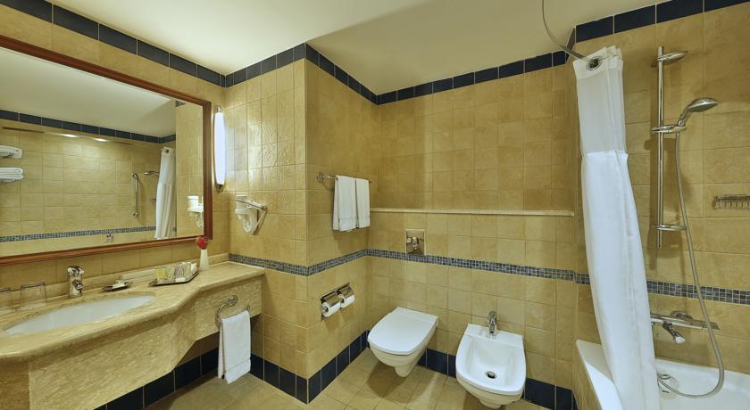 Crown Plaza Dead Sea bathroom 1 Jordan rejser til jordan dead sea younes rejser