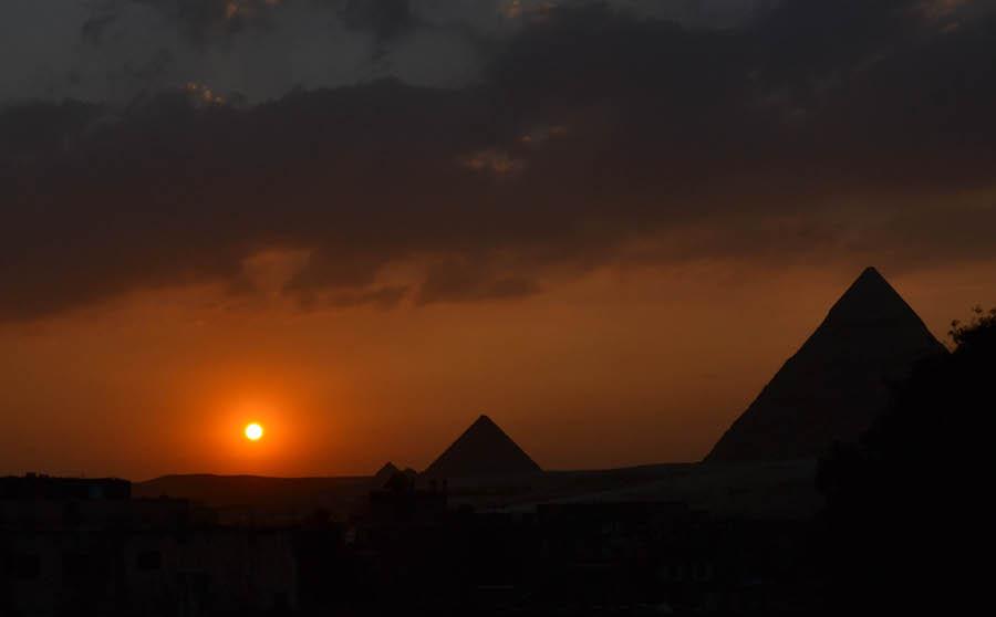 Rejser til Egypten Cairo Giza pyramider