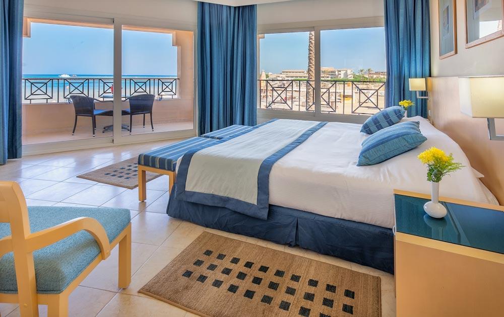 Cleopatra Luxury Resort Junior suite 1 uges badeferie hurghada egypten rejs med younes rejser