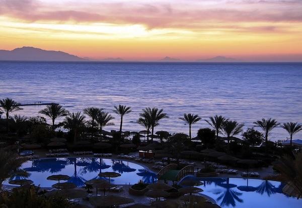 Royal Grand Sharm sunset view slap af ferie sharm el sheik egypten rejs med younes rejser