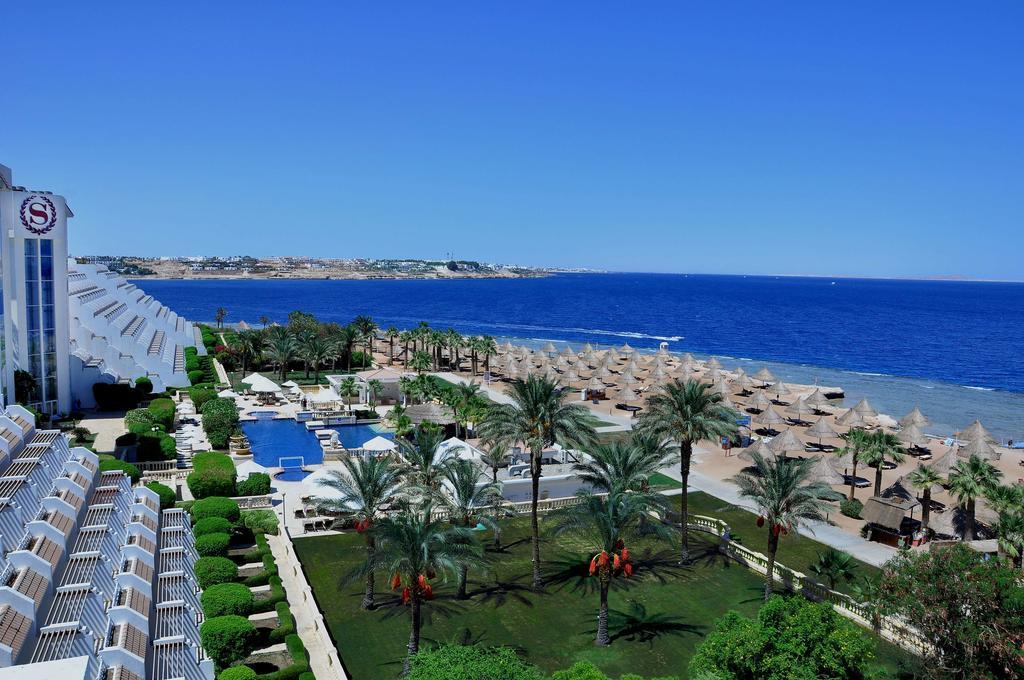 Sheraton Sharm Hotel garden & beach view strandferie sharm el sheik egypten rejs med younes rejser