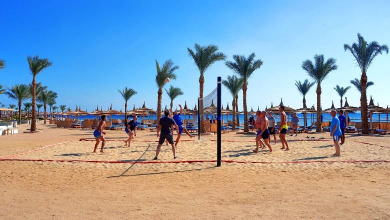 Albatros Palace beach play hurghada egypten rejser med younes rejser
