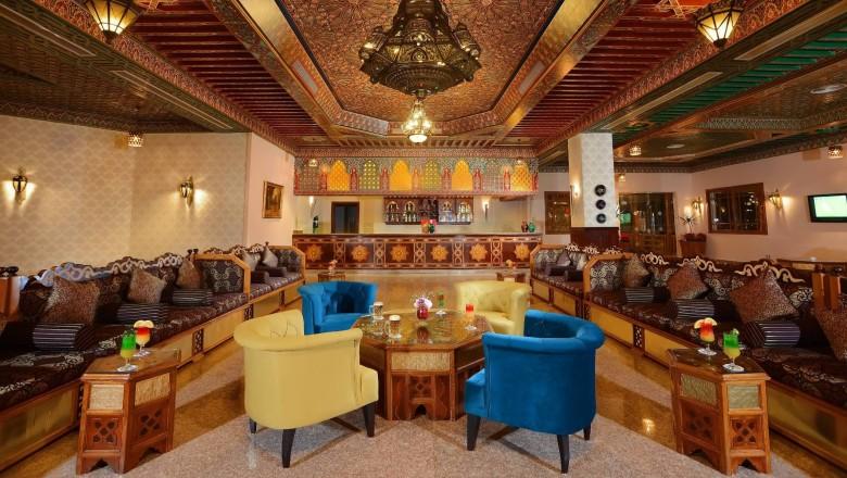 Albatros Palace bar Hurghada egypten rejser med younes rejser
