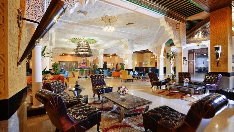 Albatros Palace lobby Palace hurghada egypten rejser med younes rejser