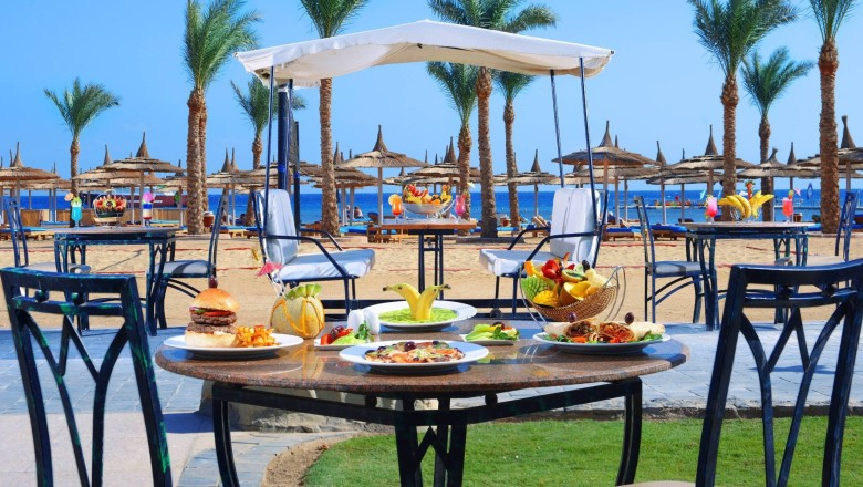 Albatros Palace Poolbar Albatros Palace hurghada egypten rejser til younes rejser