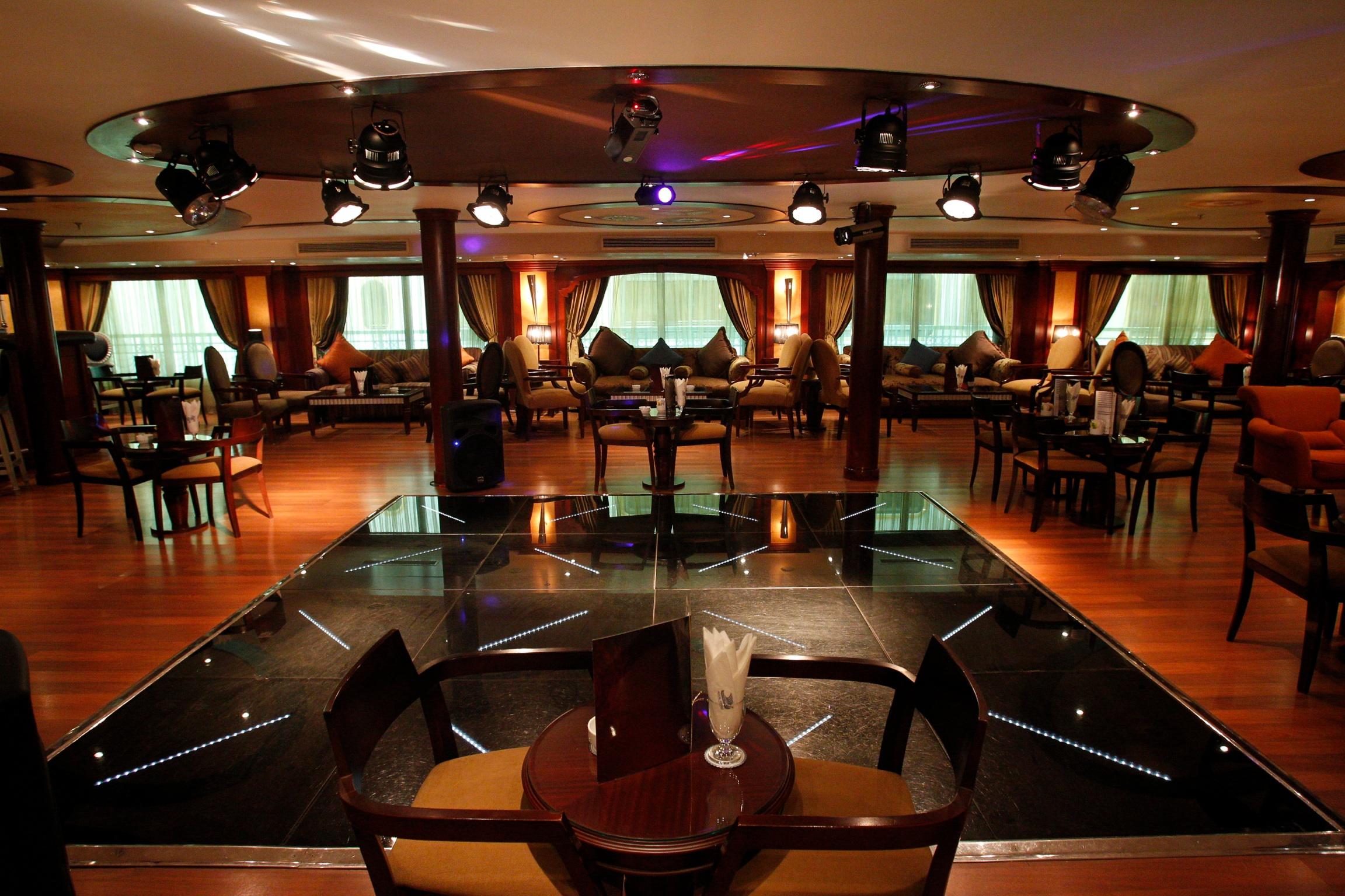 Egypten rundrejse Nilecruise Royal Viking bar