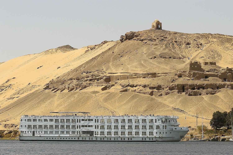Egypten rundrejse Nilecruise Quest facade