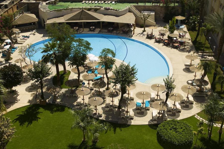 Egypten rejse Eatabe_Luxor_poolarea