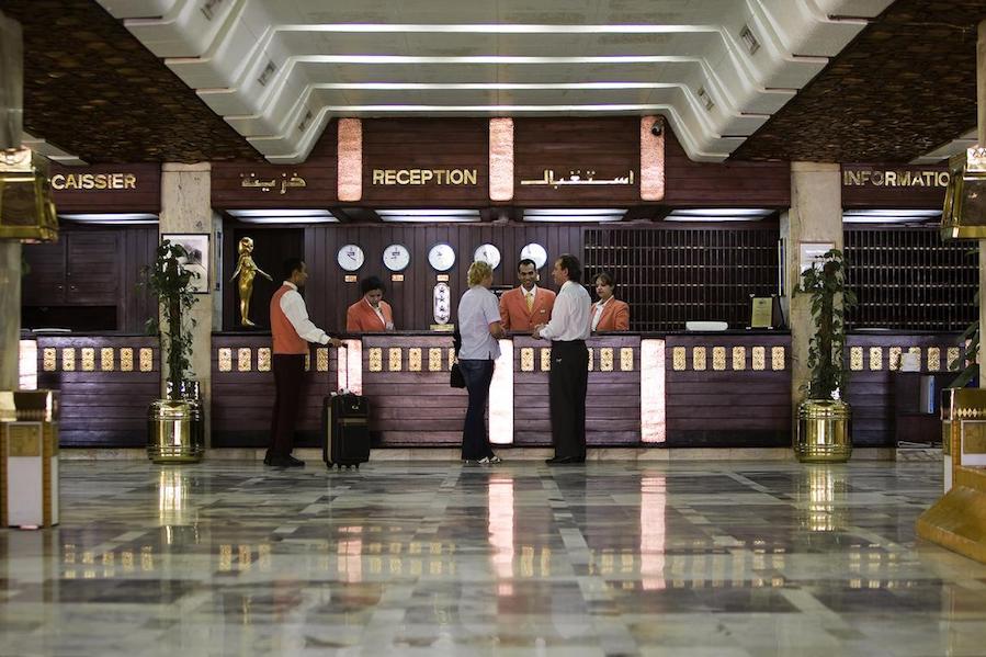 Egypten rejse Eatabe_Luxor_reception
