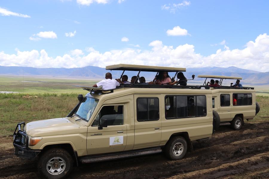 Zanzibar Tanzania safari car