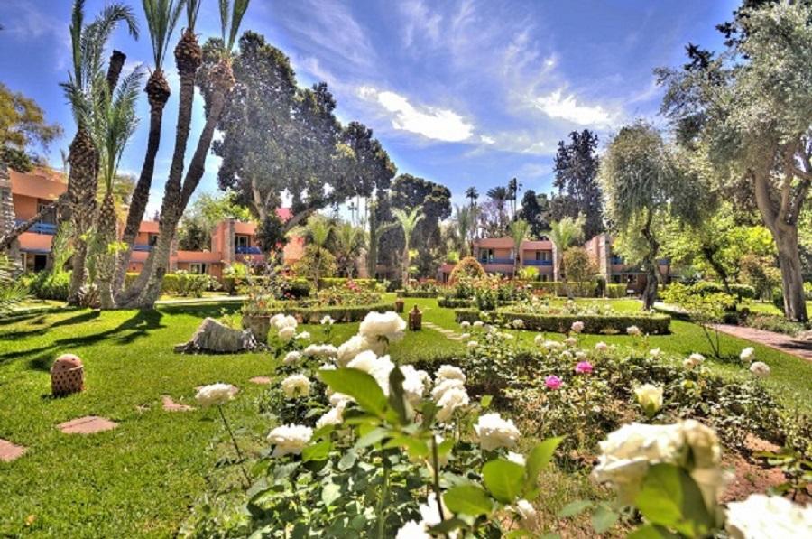 Hôtel Farah Marrakech garden view