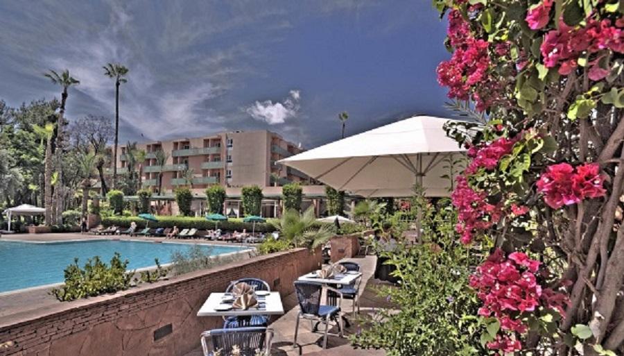 Hôtel Farah Marrakech poolside