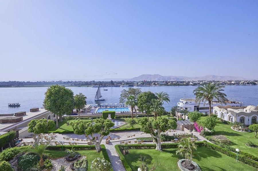 Iberotel Luxor Nile view Egypten