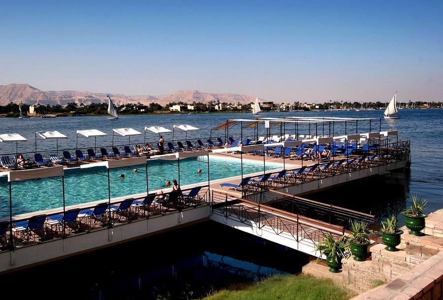 Iberotel Luxor pool Egypten