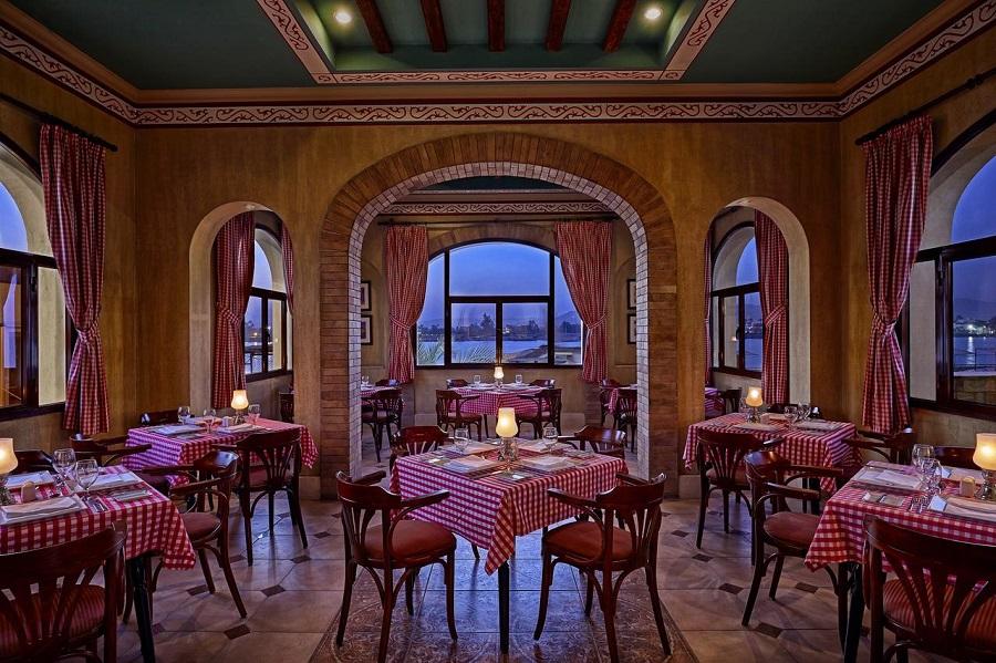 Iberotel Luxor restaurant Romantic Egypten