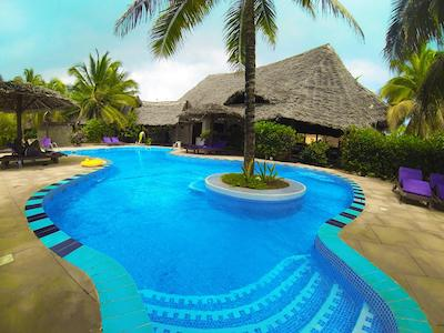 Zanzibar - Mnarani Beach Cottages,Nungwi, nord-vest kysten