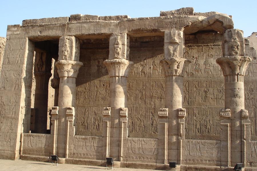 Kom ombo - - de nye og gamle faraoer - Younes rejser