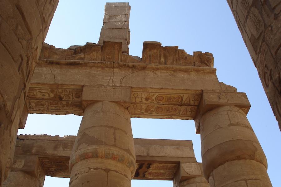 Karnak tag - de nye og gamle faraoer - Younes rejser