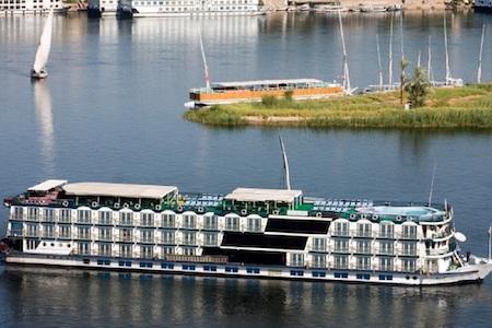 Langt krydstogt på Nilen med MS Monica